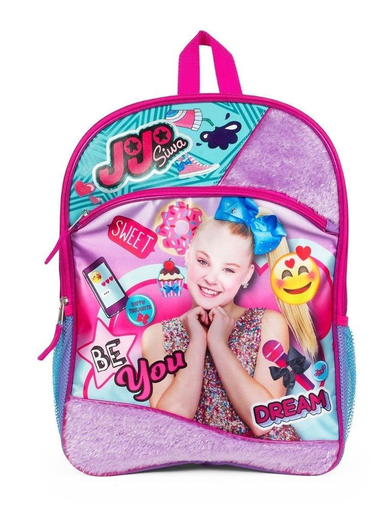 c5dd71bf75f Details about Jojo Siwa Backpack Be You 16
