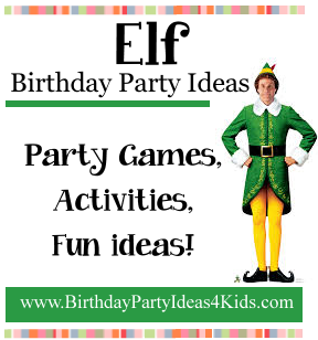 Fun Ideas For A Buddy The Elf Party Fun And Easy Games Activities And More F Elf On Th Elf Movie Party Elf Themed Christmas Party School Christmas Party