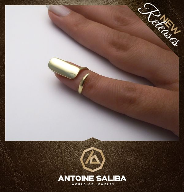 Celebrities Nail Ring 18KT Gold For more information click on the link bellow  http://www.antoinesaliba.com/product.php?idprod=9546=2=13=3