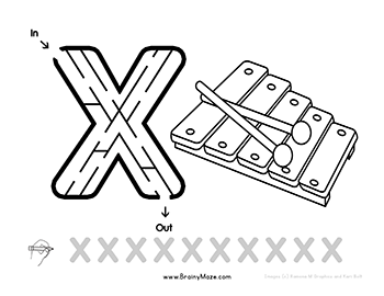 Free Letter Mazes For Kids Print Up This Set Of Lowercase Letter