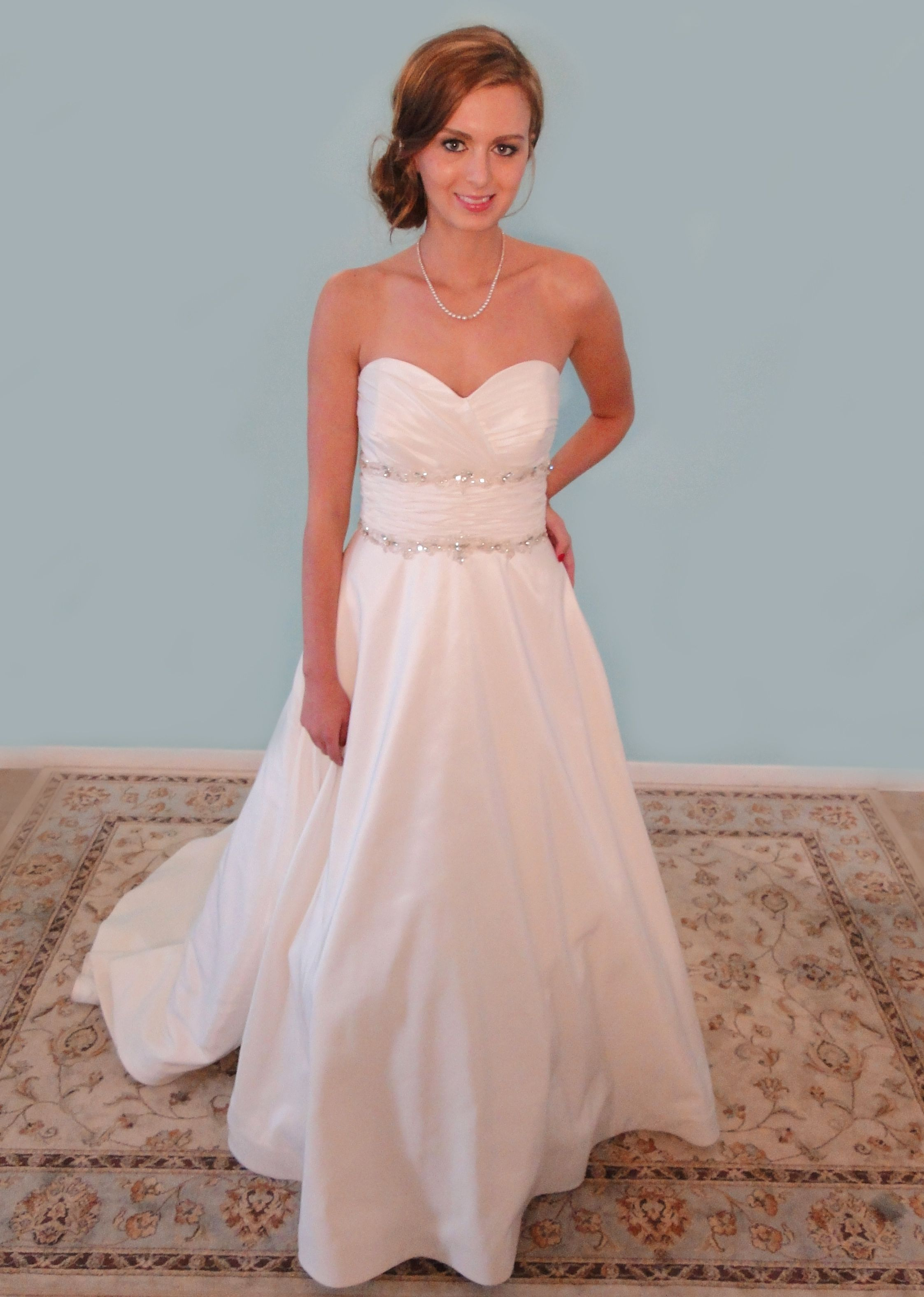 Find this Alfred Angelo gown at an amazing price at Forever Amour ...