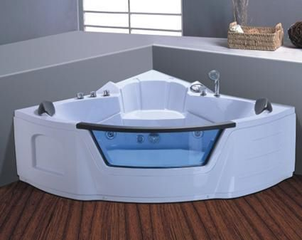 ☆NEW 2013 WHIRLPOOL JACUZZI SPA CORNER BATH ♥DOUBLE PILLOW♥1500mm X 1500mm ☆