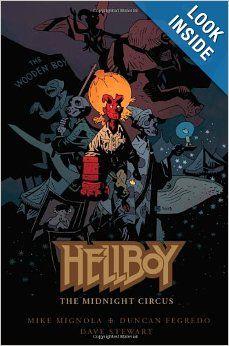 Hellboy: The Midnight Circus: Mike Mignola, Scott Allie, Duncan Fegredo: 9781616552381: Amazon.com: Books
