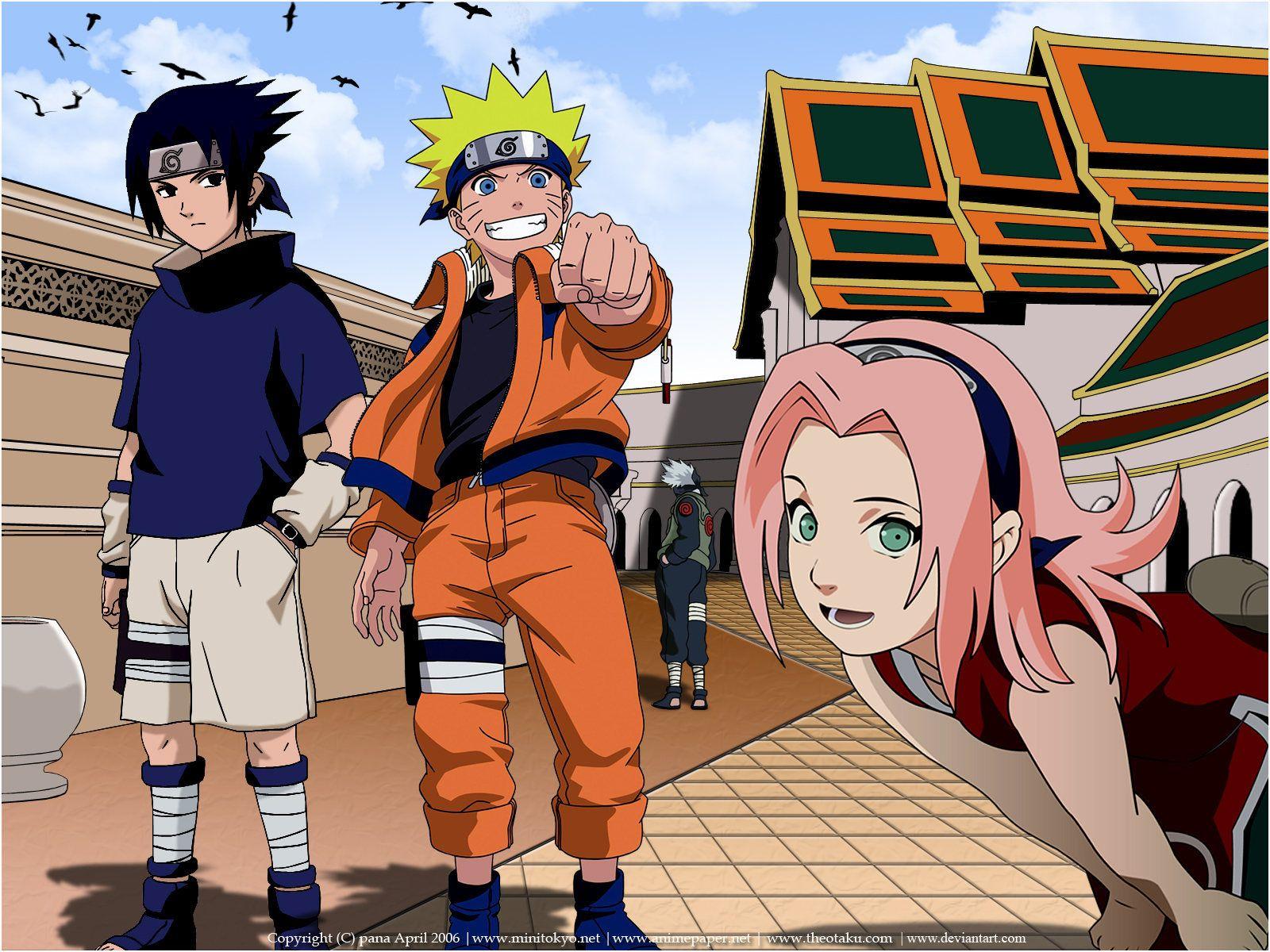 ナルト 壁紙 Naruto Wallpaper サスケ ナルト サスケ サクラ