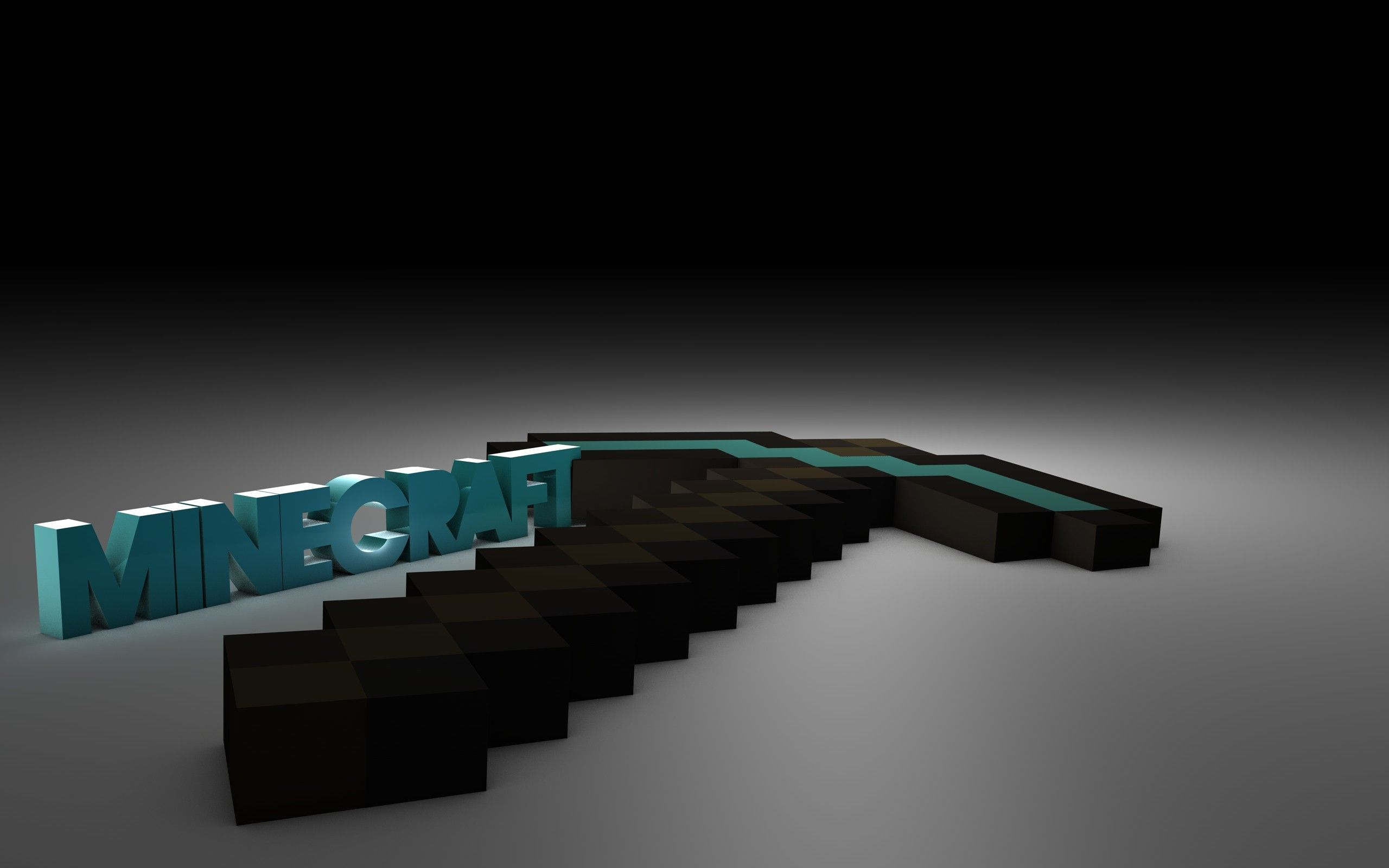 3d Diamond Pickaxe Minecraft Wallpaper Pictures Cool Backgrounds