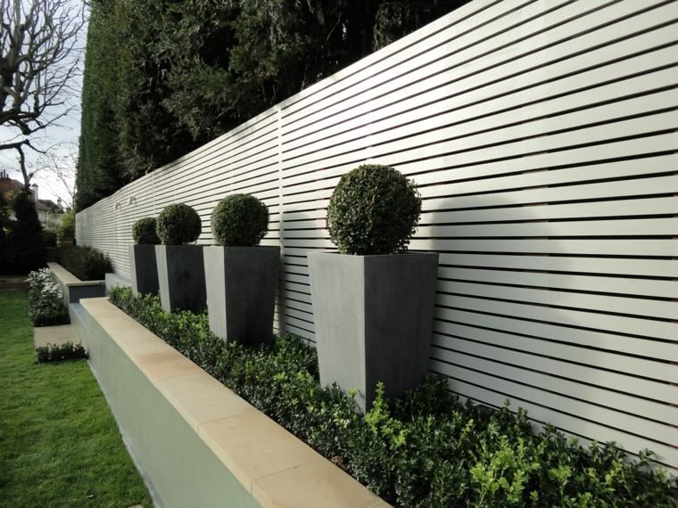 Cloture Jardin Moderne   Idées décoration intérieure