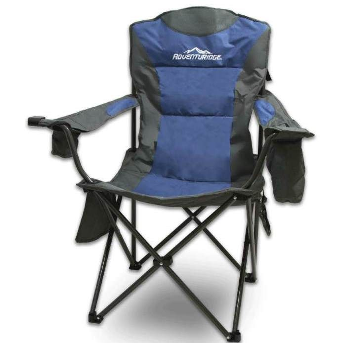 Foldable Folding Camping Chair Retreat Recliner Beach Outdoor