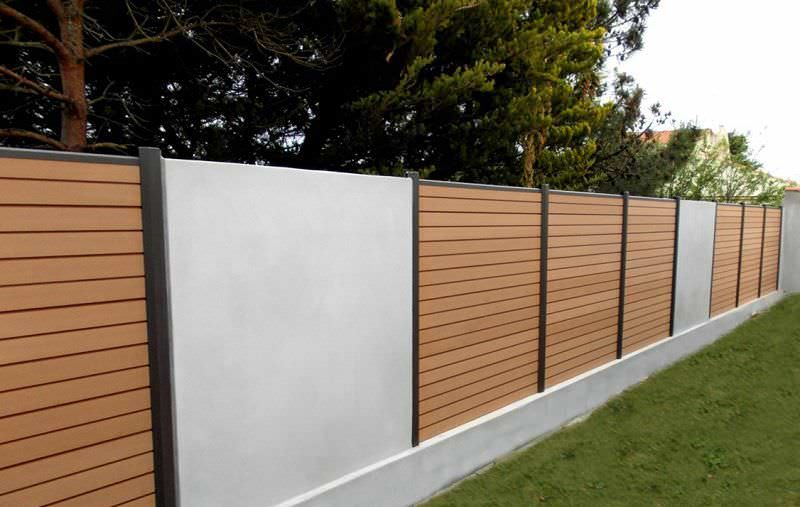 Wood Plastic Composite Fencing Product With Low Fencing Cost Fence Design Vinyl Fence Picket Fence Panels