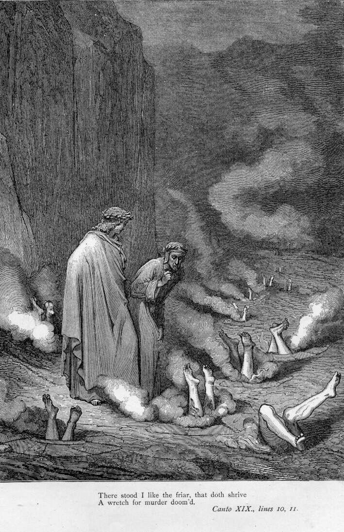 demon, devil/hell, & good vs evil depictions
