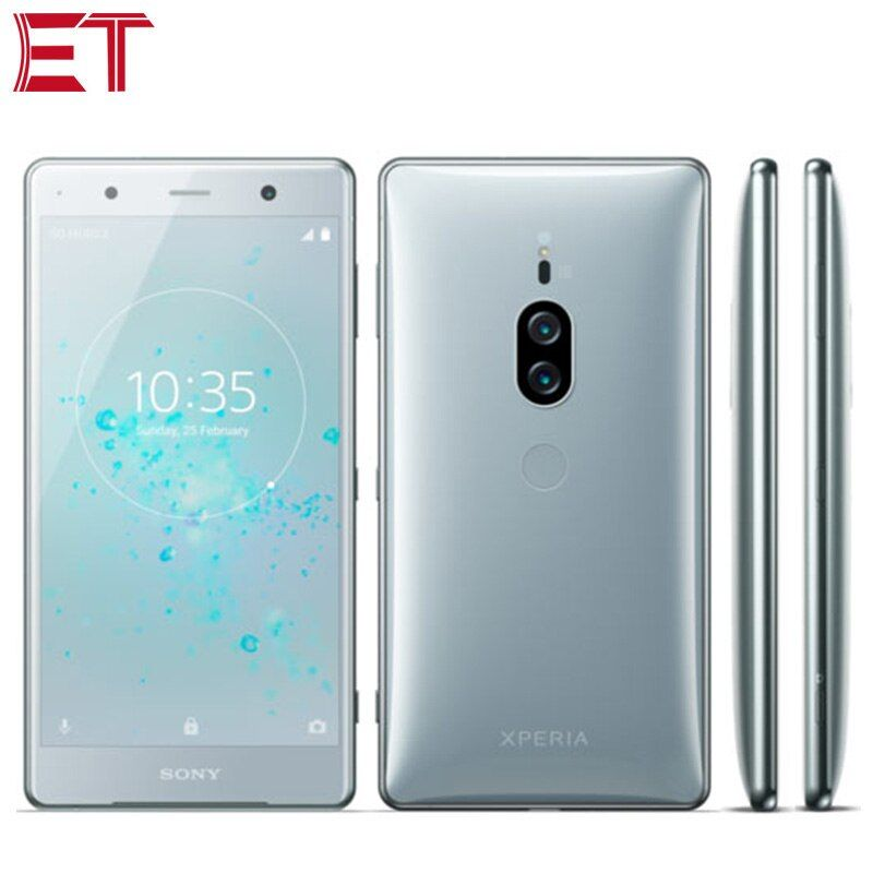 Original Sony Xperia Xz2 Premium H8166 Dual Sim 4g Mobile Phone 6gb 64gb Snapdragon845 Octa Core 5 8 2160x3840p 4k Android Nfc
