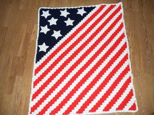 American Flag Knitting Sewing Crochet Tutorials Children