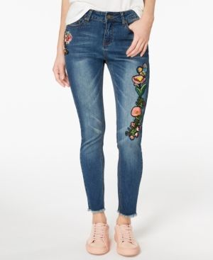 39049420a Indigo Rein Juniors' Embroidered Skinny Jeans - Blue 15 | Products ...