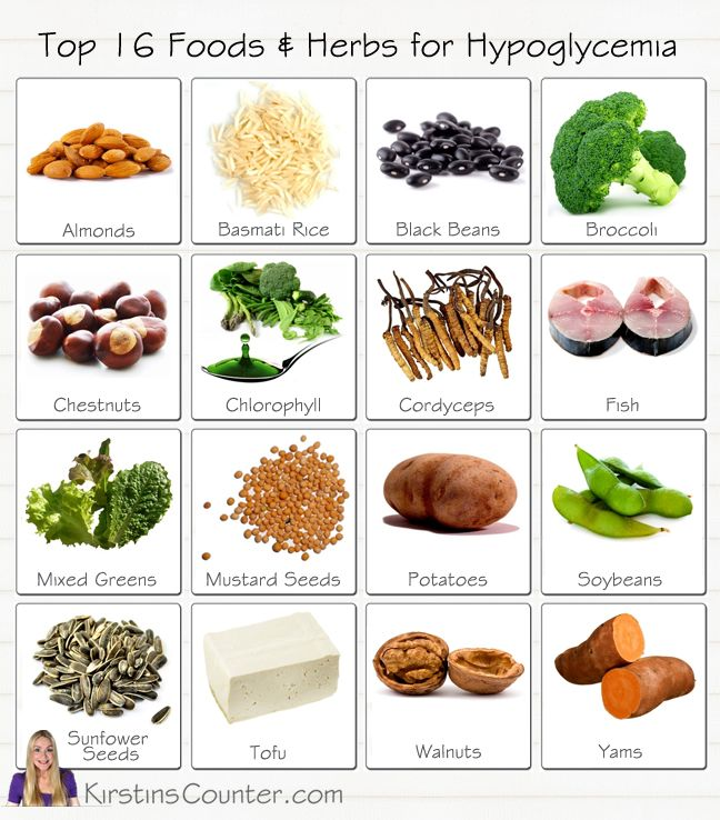 TOP 16 FOODS FOR HYPOGLYCEMIA. Fight Hypoglycemia and keep