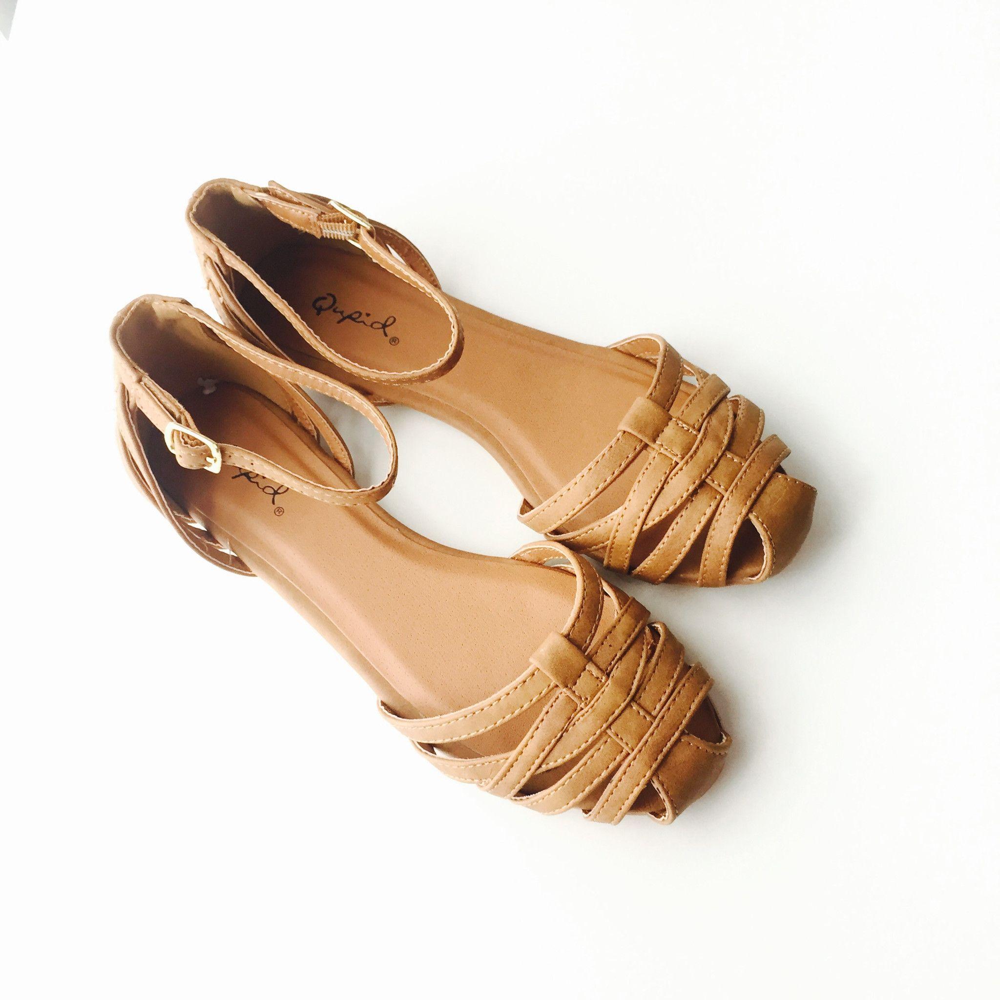 20c7f463c Casey Flats - Tan – Zelle Boutique Cute Flats
