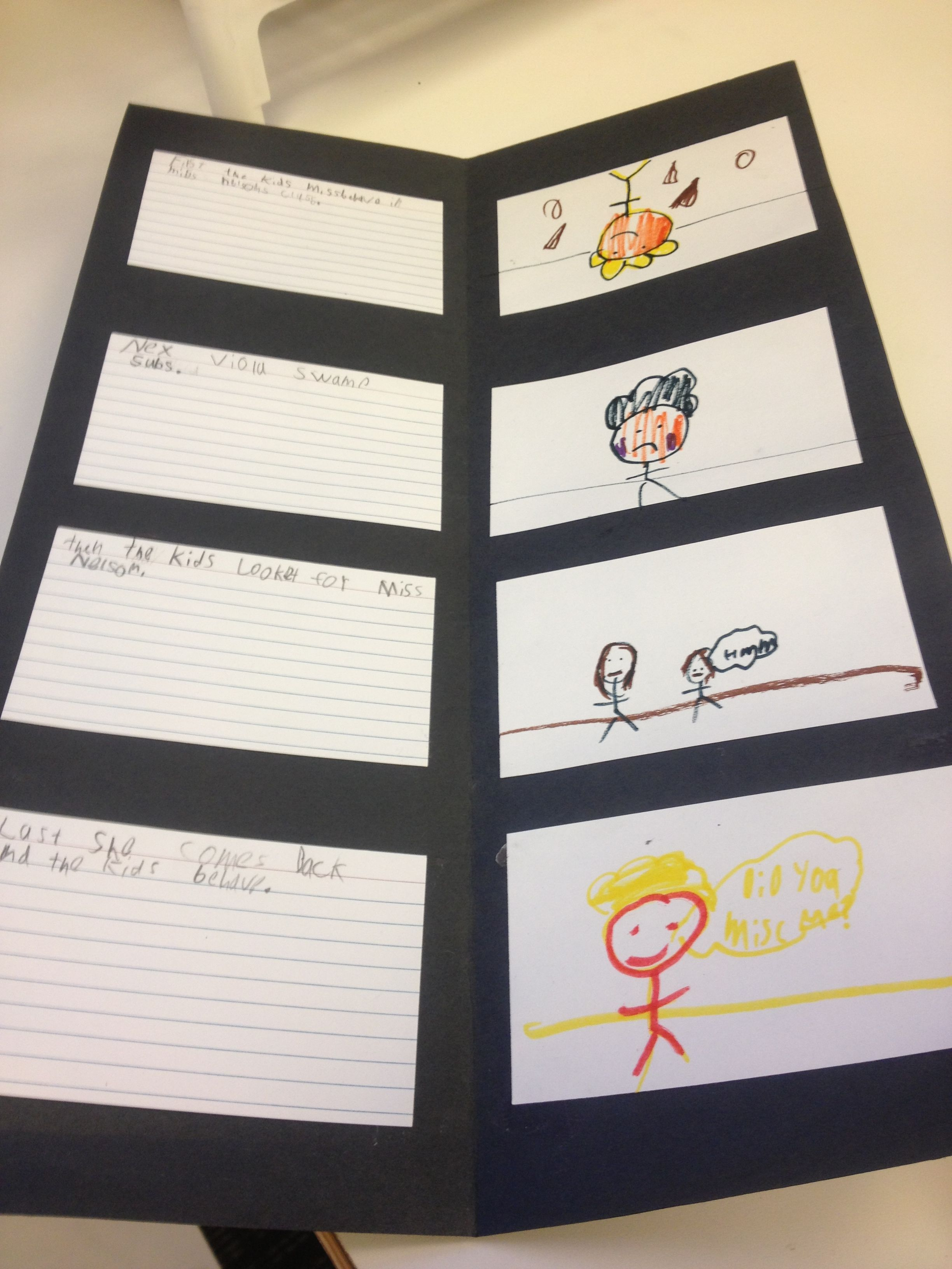 Miss Nelson Is Missing Sequence Chart