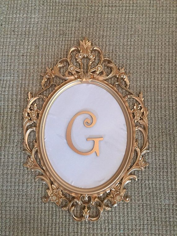 custom personalized gold baroque frame Рамки pinterest