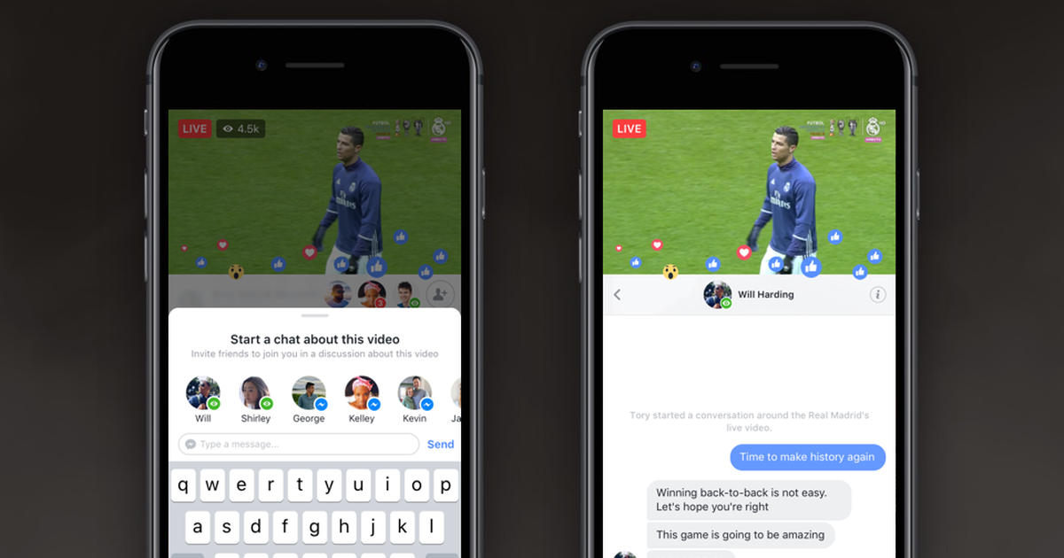 Facebook just announced two big new features for Live: https://t.co/TAPNUR0cTn https://t.co/EIBOPV36GR