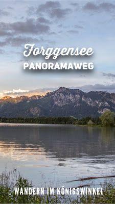 Forggensee-Panoramaweg | Wandern Königswinkel Bayerischer Allgäu