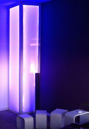 Deutsche LED Deckenleuchte Nickel matt mit Chrom 7470lm Dimmbar Ø 85cm Industrie