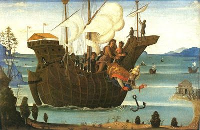 Bernardino Fungai - Martirio di San Clemente - 1500 ca. - City Art Gallery, York,