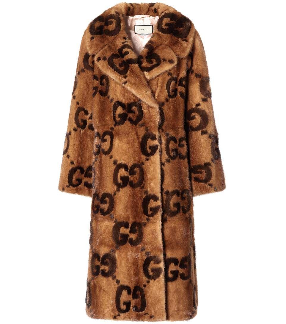 a79b57357 GUCCI Mink fur coat. #gucci #cloth # | Gucci | Gucci mink, Gucci fur ...