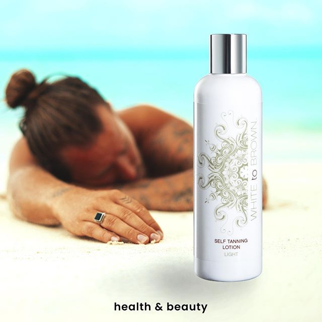 649833fbb1f White to brown Self-tanning lotion is a rich conditioning tann… | Instagram  | Latest Posts ♥ in 2019…