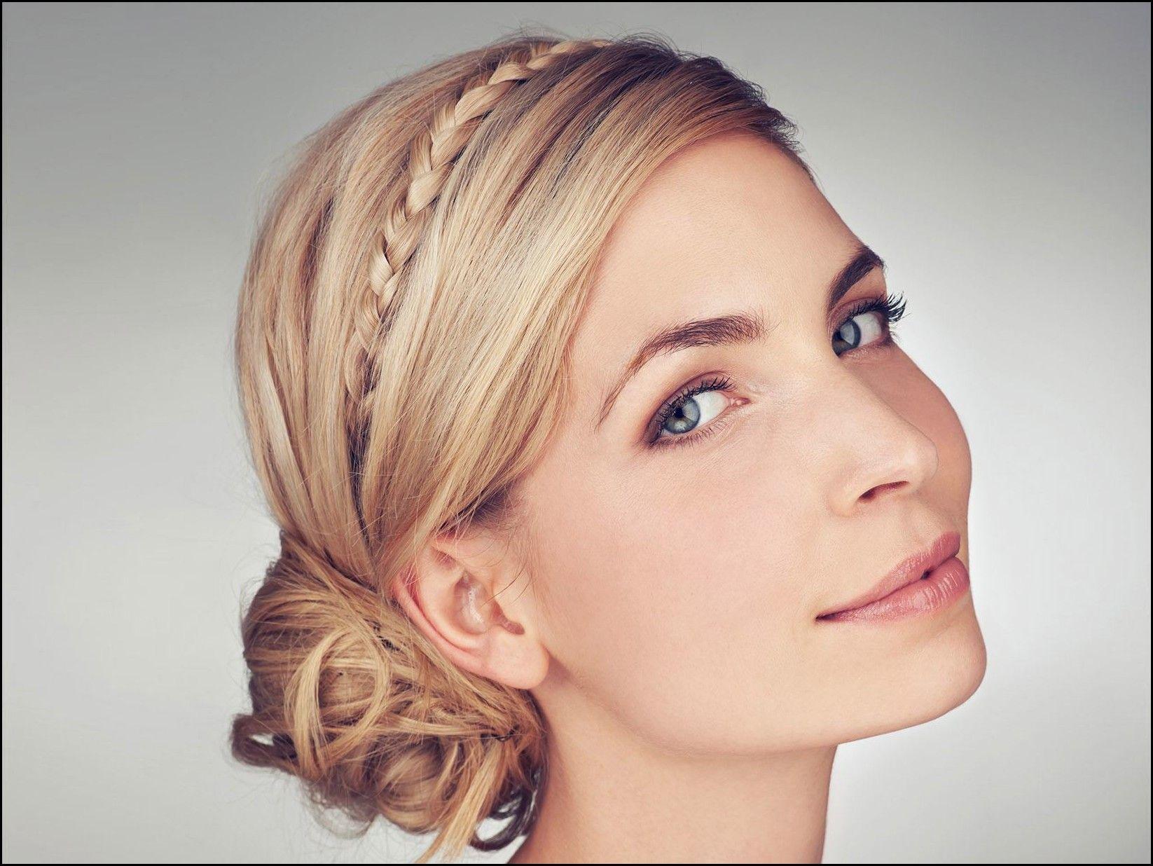 Hochsteck- und Flechtfrisuren für dünne Haare – Frisuren Damen