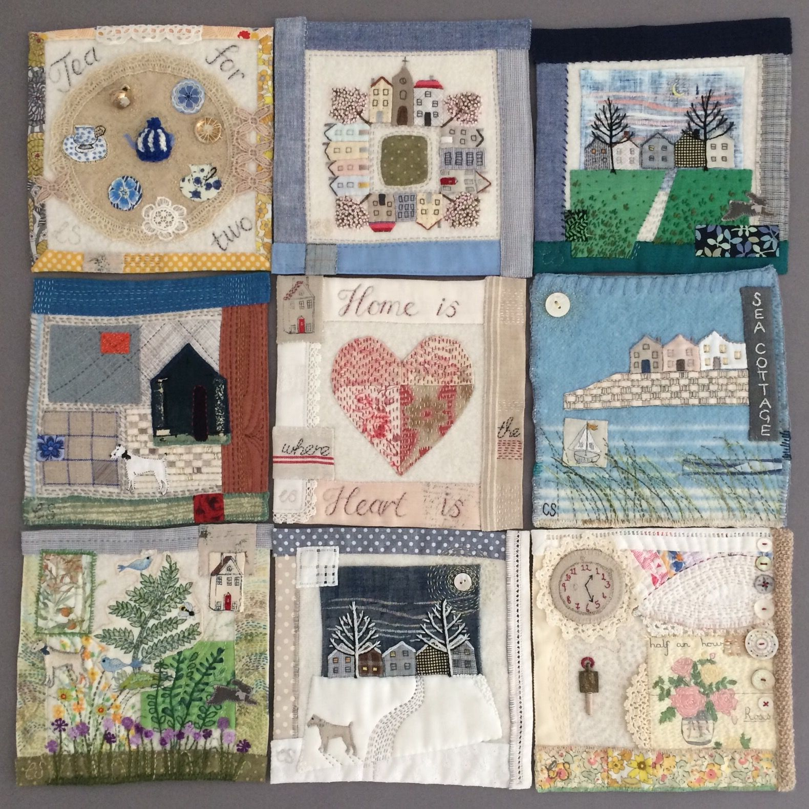 Claire s beautiful squares for Jessie Chorley s friendship project