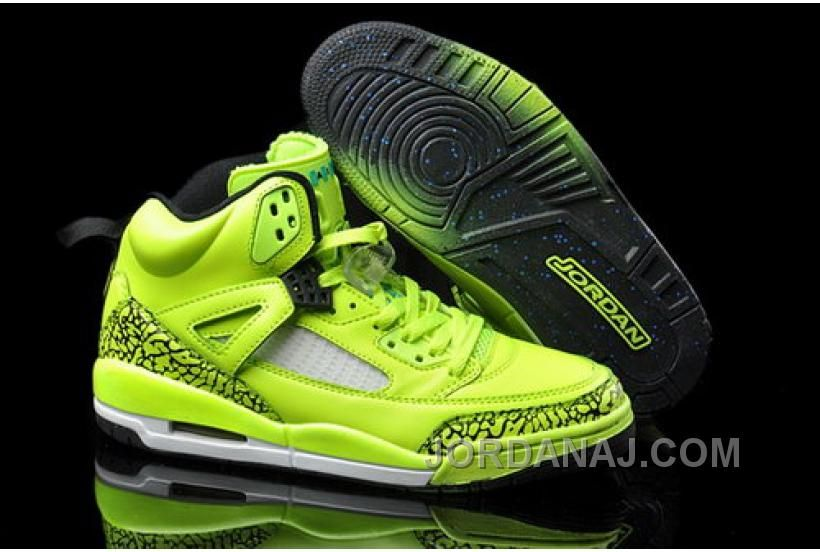 Nike Jordan New Shoes Aie 3.5 Spizike Mens Green Young