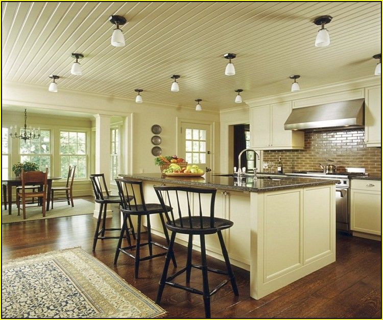 Kitchen Lighting Fixtures Ceiling: Kitchen Lighting Ideas For Low Ceilings