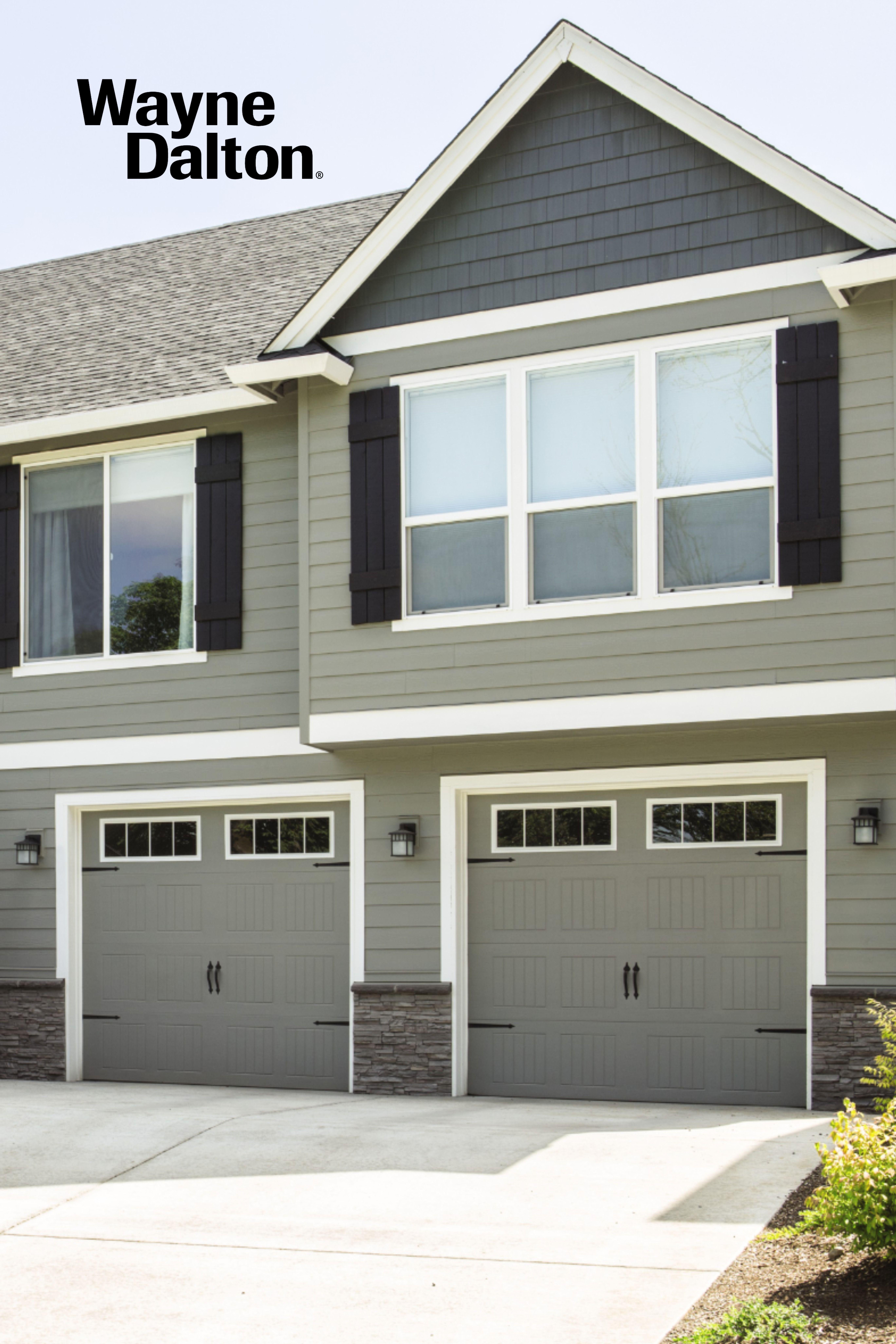 Model 9100 9605 Wayne Dalton In 2020 Steel Garage Doors Garage Doors Doors
