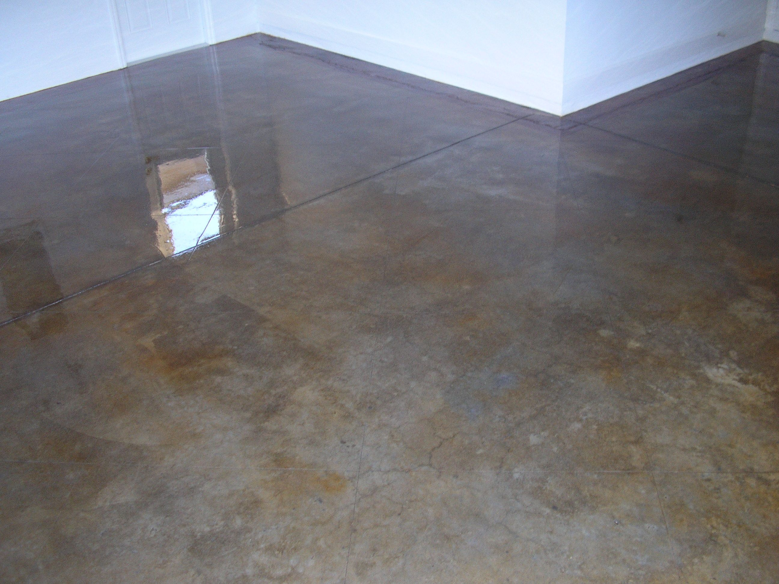 Acid Stain Concrete Floors | Acid Stained Concrete Floors U0026 Countertops    Model Home