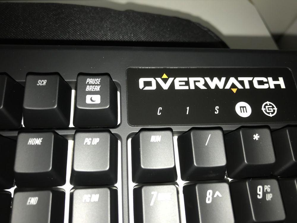 Razer Overwatch Black Window Chroma + Keyboard Case | eBay | Razer