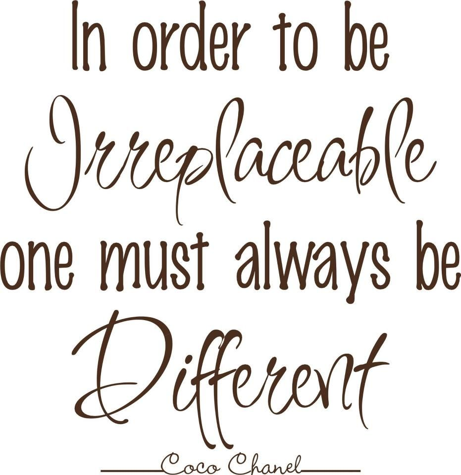 Different-Coco Chanel