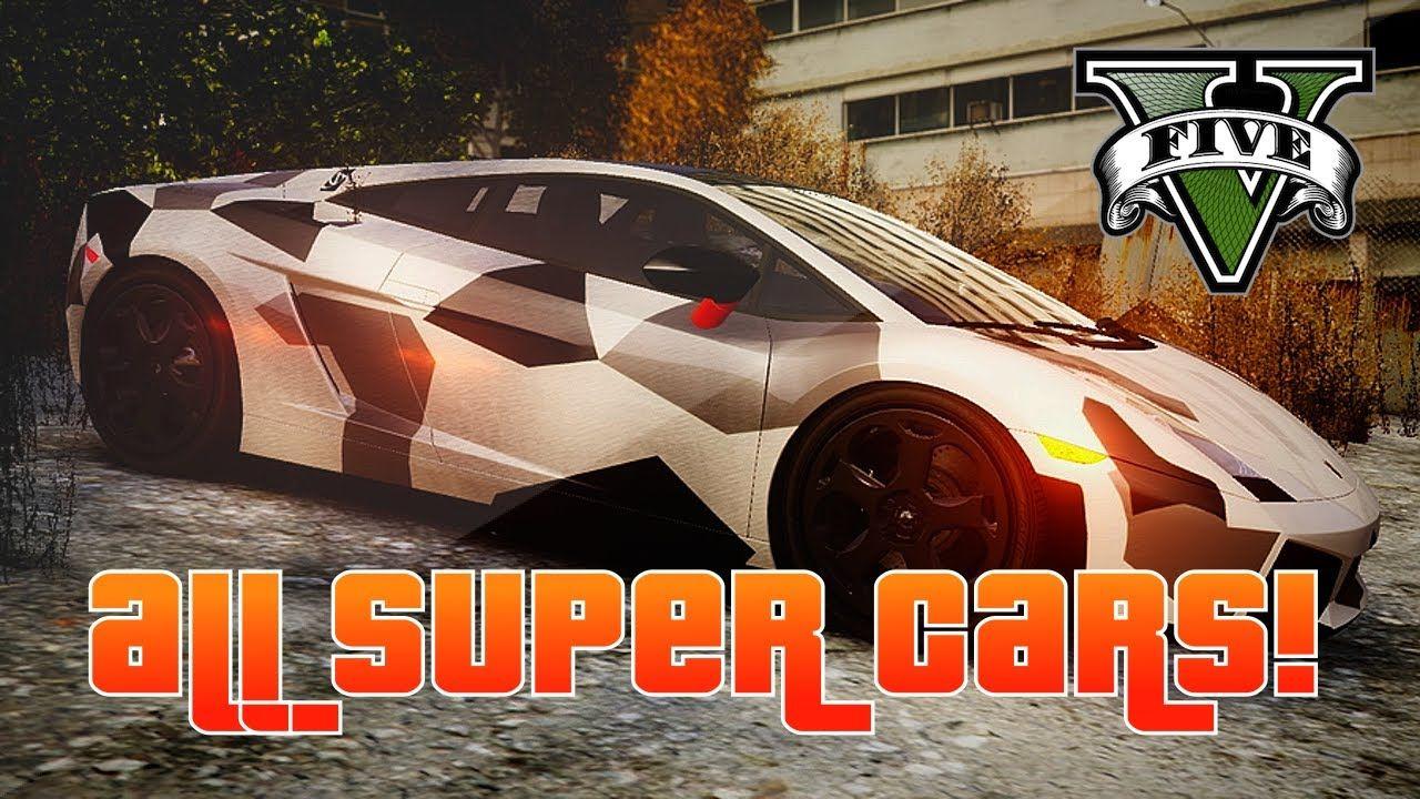 Get Your Own Super Cars No Missions Required Audi R Bugatti Lamborghini Etc Gta All Super Cars Collection Best Gta Car Collection All Gta