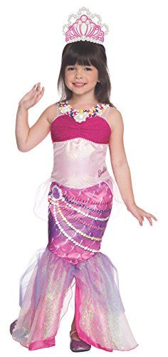 Rubies Barbie And The Pearl Princess Deluxe Lumina Costume Child