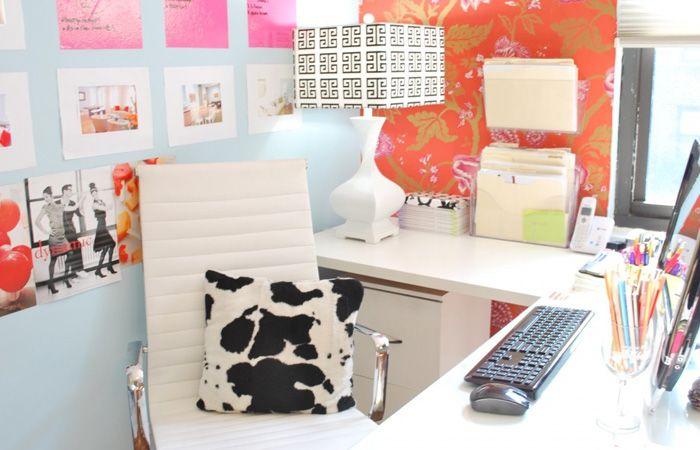 Decoração: escrivaninha em L   Decoração de escritório ...