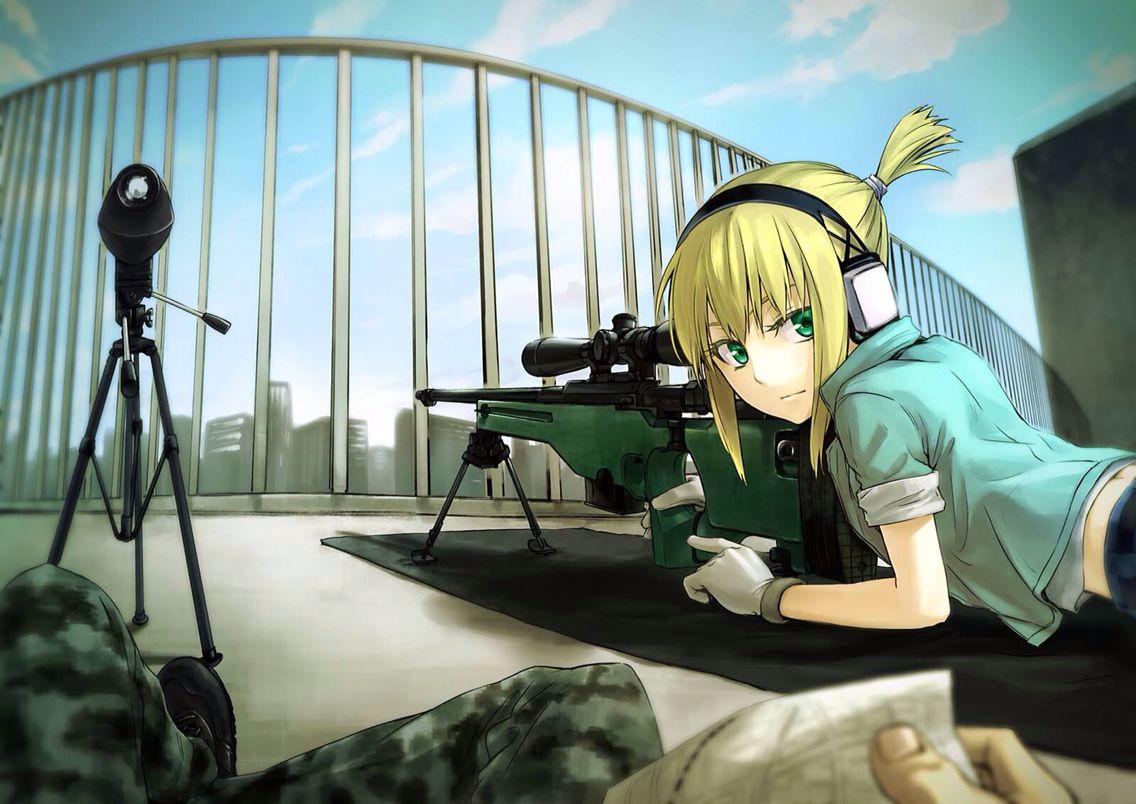 Sniper Sniper Girl Hd Anime Wallpapers Anime Wallpaper