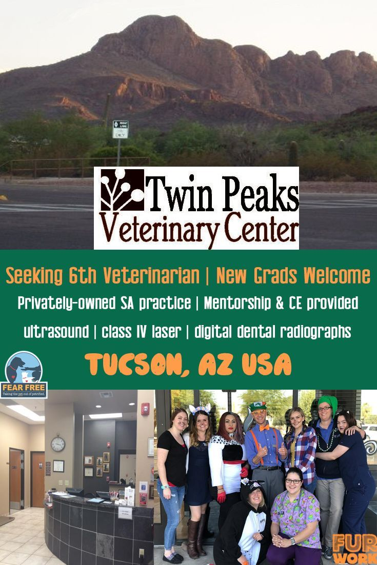Veterinarian, Twin Peaks Veterinary Center, Tucson AZ