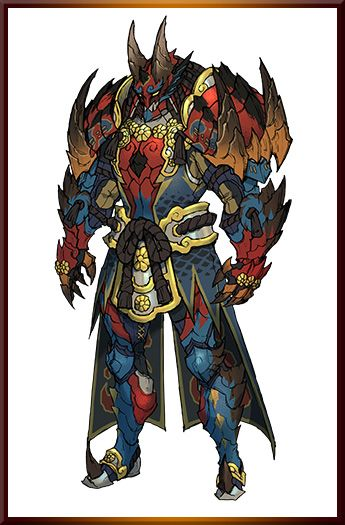 Monster Hunter Generationsmhx Armor Mh Monster Hunter Monster