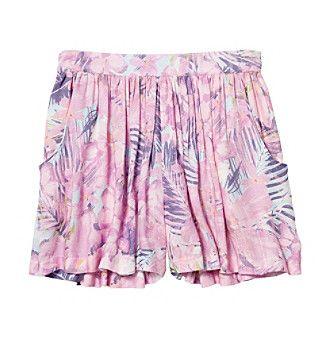Jessica Simpson Girls 7 16 Tropical Print Flippy Shorts