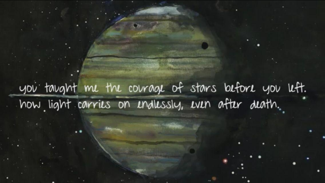 Saturn Sleeping At Last Sleeping At Last At Last Lyrics Saturn Sleeping At Last