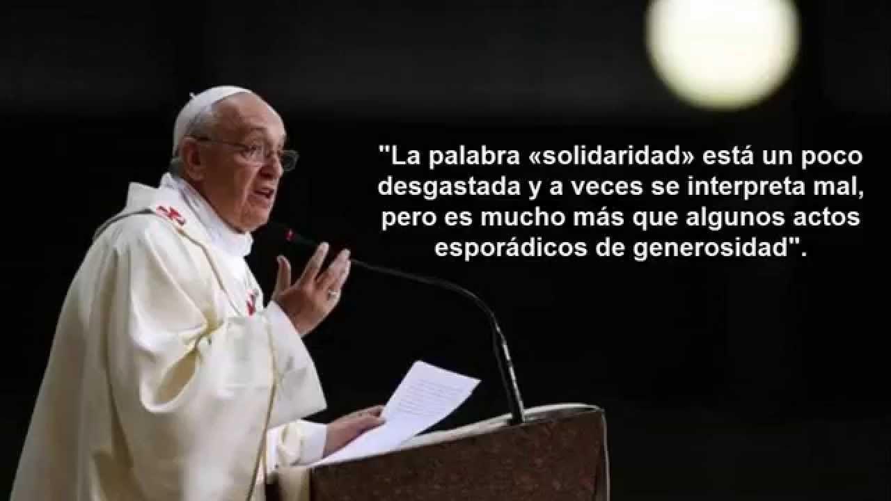 Laicos Corresponsable ن En La Iglesia Y En El Mundo Papa Frases Francisco