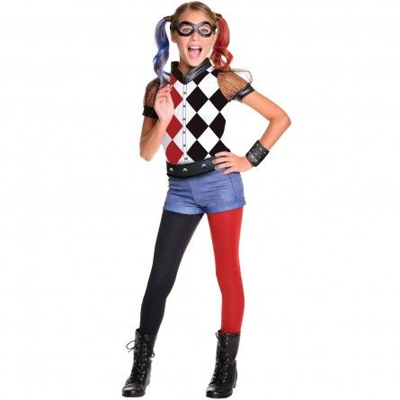 Child Harley Quinn Costume  sc 1 st  Pinterest & Child Harley Quinn Costume | Costumes | Pinterest