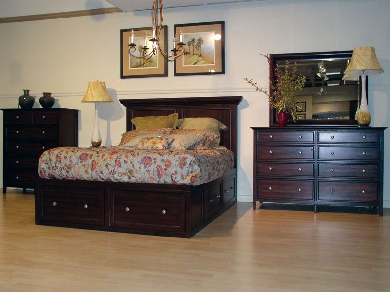 Cardi\'s Furniture - liked this set. Tons of storage under the bed ...