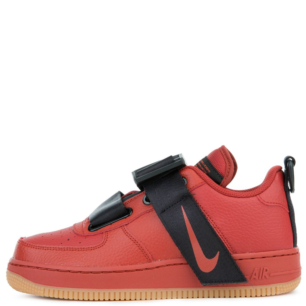 Nike Air Force 1 Utility Dune Red Dune Red Black Gum Med Brown