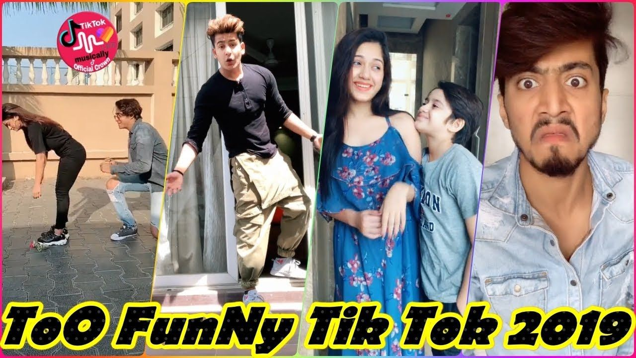 Best Funny Tik Tok India Videos Compilation 2019 New
