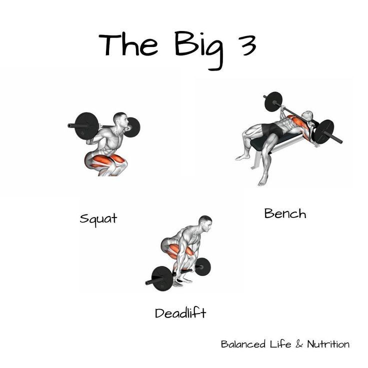 "Jen | Womens Fitness Coach auf Instagram: ""The BIG 3! Kniebeugen-wie oft ein ...   - Lift Weights Ge..."