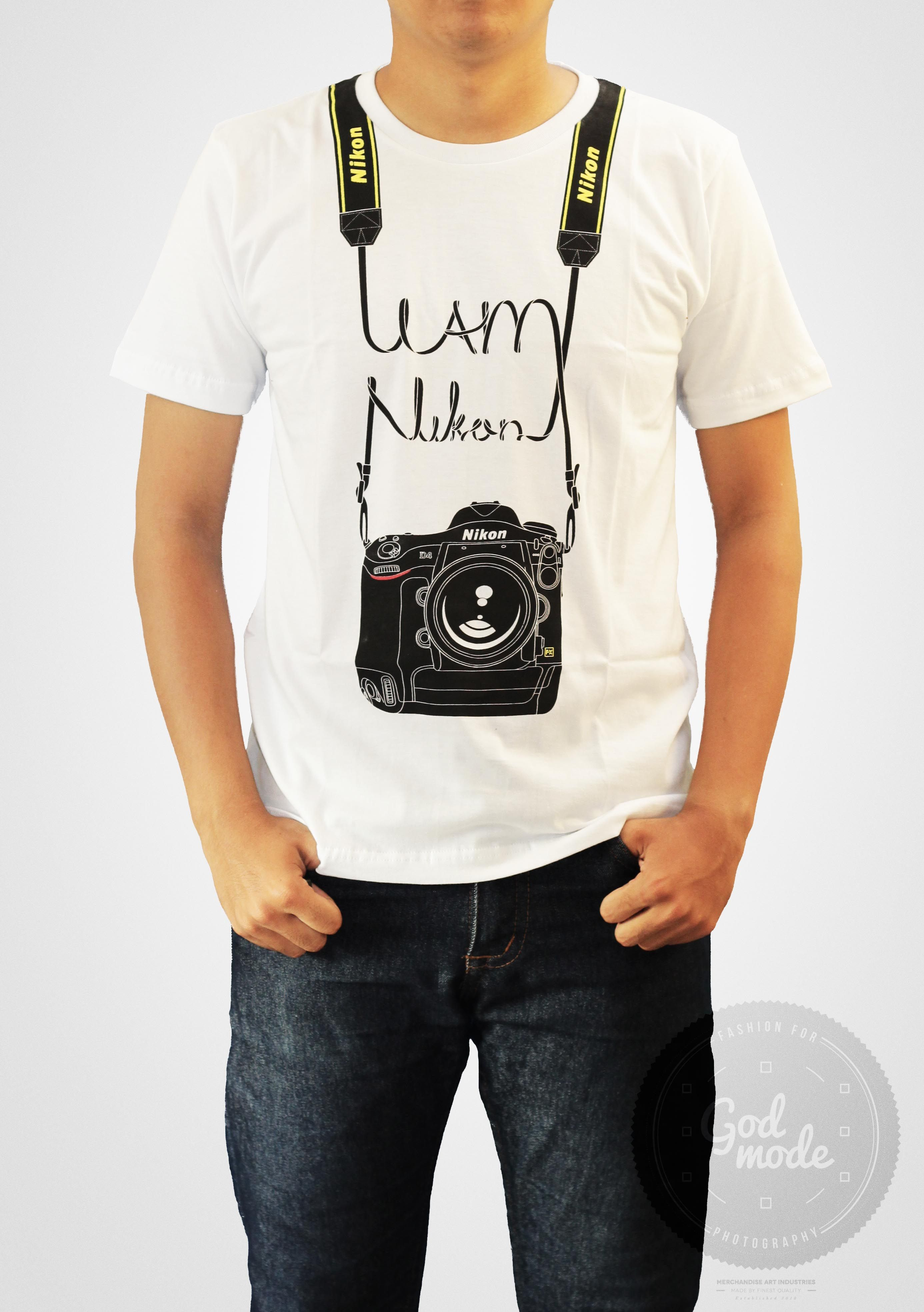 Black dog t shirt ebay -  18 Usd Nikon T Shirt Photography I Am