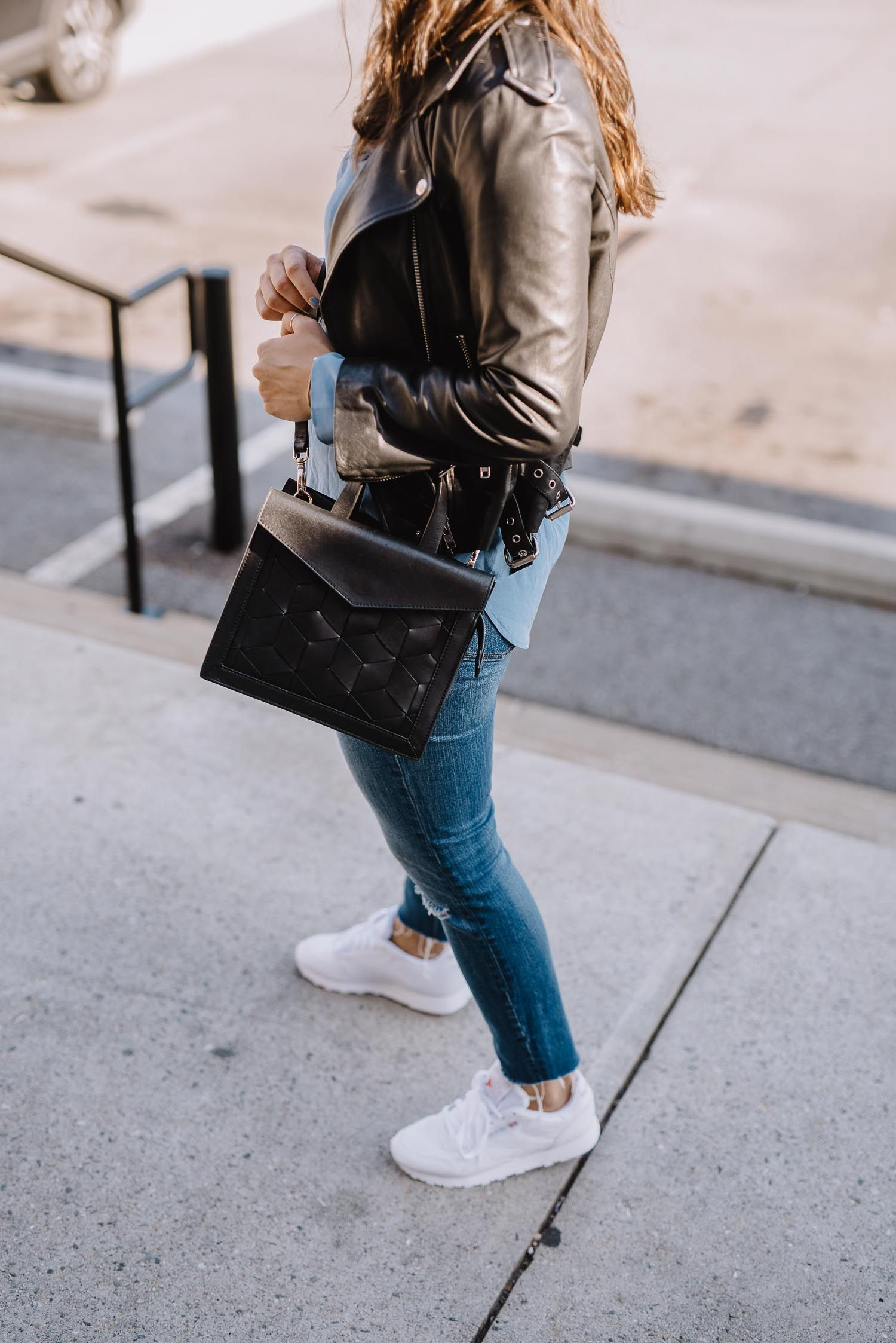 How To Style Reebok Classics Like A Fashion Blogger | White